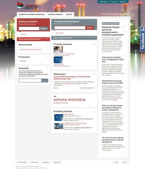 portal technologie przemysłowe