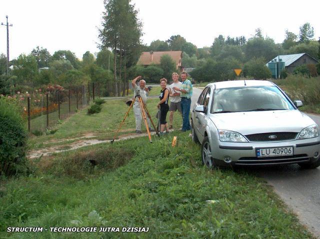 odwodnienie terenów - rowy odwodnieniowe i melioracyjne