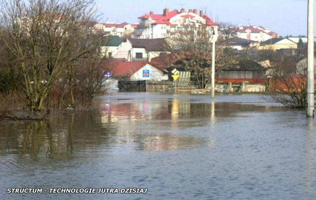 powódź - podtopienia i straty powodziowe w Lublinie