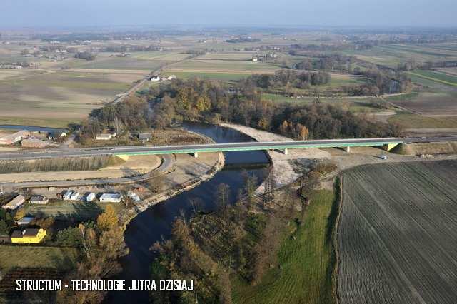 projekt umocnienia rzeki Wieprz w Woli Skromowskiej