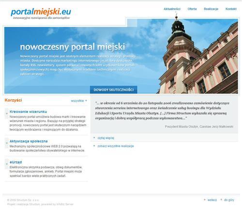 portal miejski system portalowy CMS InfoBiz Server