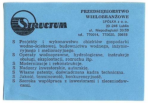 Structum - historia firmy