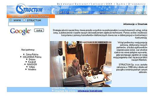 Structum - firma internetowa