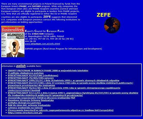 ZEFE - pozyskiwanie funduszy pomocowych