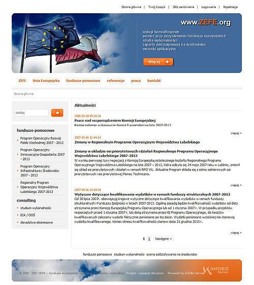 fundusze pomocowe, usługi consultingowe ZEFE